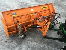 2014 Matev 180 snow plow