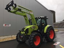 2012 Claas Arion 420 + Front lo
