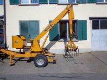 1984 Krüger L 214 Dung crane
