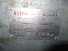1994 Gafner 2400 HR Mistzetter