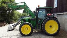 John Deere 5820 With front load