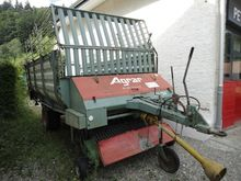 Agrar Self loading wagons for a