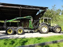 TERRMACCH Forestry trailer with