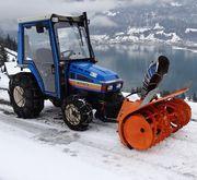 1990 Iseki tractor TU 320 H mun
