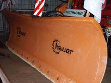 Hauer HS2400 snow plow