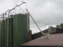 Huber Plastic silo occ. rev. In