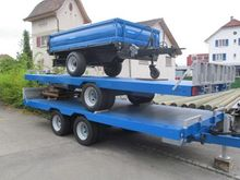 2015 Platform trailer hydr. Til