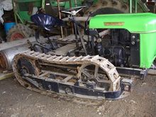 Deutz 1 cyl.inder tracked tract