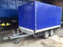 Humbaur car trailers