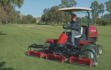 2014 LM-2400 spindle mower Spin