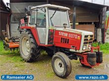 1981 Steyr 8070 Tractor normal