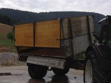 Tipper 1-axle 3 sides