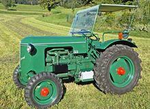1954 Meili FD 4 Tractor 2-wheel