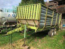 Claas Eigenbau Häckselwagen