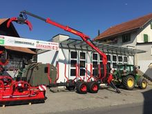 2016 Krpan Backhoe with crane 8