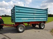 1995 Mengele 12 tons trailer