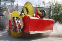 2016 Adler K750 sweeper