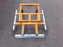 Aedes Crate clamp for rear stac