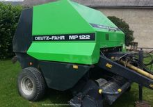 2002 Deutz-Fahr MP122 Round bal