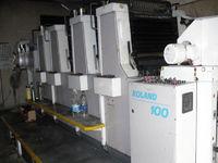 1995 Roland R-100 Offset Printe
