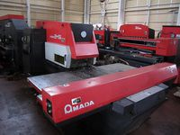 1991 Amada ARIES-245 Turret Pun
