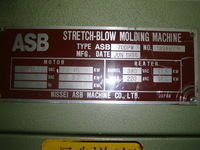 1996 ASB 70DPW Blow Molding Mac