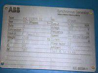 2004 Wartsila 18V38B 12150kw Di