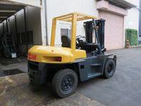 2005 TCM FD60-9 6.0T Forklift T