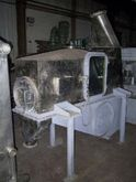 Rosin continuous fluid bed drye