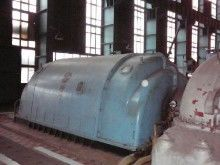 Condesing steam turbine made by