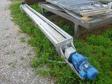 Stainless steel screw conveyer