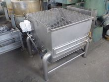 Stainless steel mixer with two