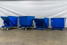 Hortimat 1000 liter tipping con