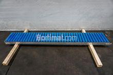 350 × 2500 mm Roller conveyor
