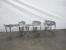 300 mm 180° roller conveyor