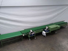 flower processing machine with