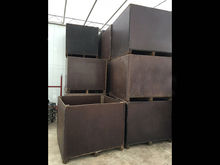 Wooden m3 crates