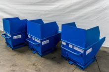 250 liter tipping container