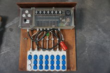 Cyclic control panel , 5 groups