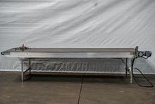 Visser 1000 × 3700 mm conveyor