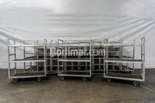 Aluminum transport trolleys
