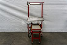Taks weighing table equipped wi