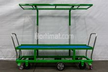Hortimat harvesting trolley wit