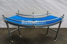 395 mm 90° roller conveyor