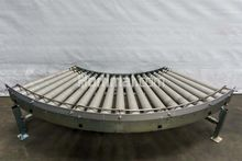 690 mm 90° roller conveyor