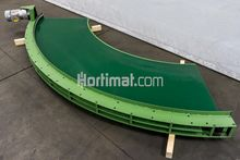 680 mm 90° curved conveyor