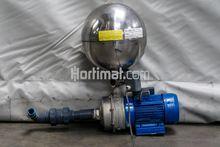 Visser pump + pressure vessel