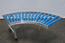 490 mm 90° roller conveyor