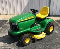 2002 John Deere LT170, Gasoline