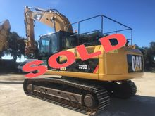 2011 Caterpillar 329DL Track ex